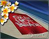 Frangipani ~ beach towel