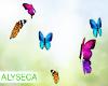 Aly! Yuno butterflies