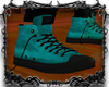 #SDK# Kicks I Cyan&Black