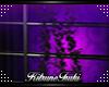 Pvc Armour purple roses