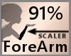 Scale ForeArm 91% F A