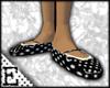 [E] Dotted Ballet Flats