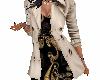 abrigo +vestido