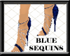 ! Gem Stilettos Blue Seq