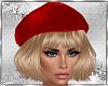 Blonde Hair & Red Cap