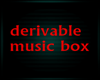 Derivable music Box