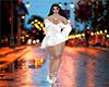 dress white M