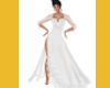 ELEGANT WHITE LACE GOWN