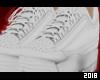 !D White Shoes