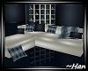 Midnight Blue Sofa