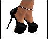 Black Studded Platforms