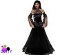 black magic woman gown