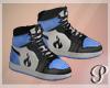 Devil Dolls Shoes Blue