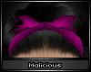 !M Do-Rag Bow Purple