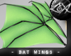 -LEXI- Bat Wings: Mint
