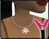 [Y]SnowFlake Necklace