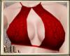 Bikini top red