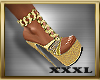 ! Dazzled Gold Heels