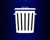 (Ani.)Trash Can (Blue)