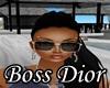 $BD$ Dior glasses black