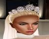 Bride cream tiara