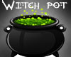 Halloween Witch Pot