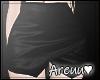 ₳/ Kali Leather Skirt