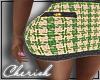 ♛ |Houndsooth Skirt