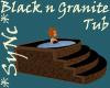 Sync Black Stone Hot Tub