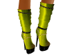Gold Cheeky Boots