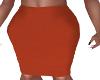 II-Rust Pencil Skirt