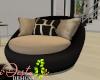 ID: Noir cuddle chair
