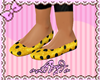 Yellow Polka Dots Flats