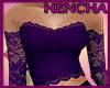 Lace Top - Purple
