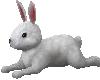 Poseless easter bunny