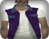 Blue Jacket / Shirt W.