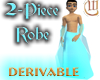 2 Piece Robe - Derivable