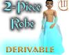 2 Piece Robe - Derivable