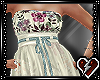 S Antiq Tan dress
