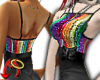 Rainbow Dress Top