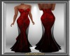 Red Bead Gown