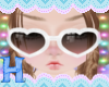 MEW kid heart glasses