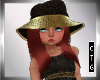 CTG HAILY RED/ANIMAL HAT