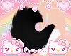 ♡ puppy tail black