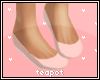 T| Baby Pink Ballet Flat