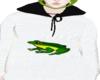 random frog hoodie
