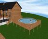 s~n~d pine above pool