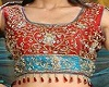 Red &Blue Bridal Dupatta