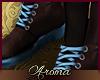 AOP=Blue e boots