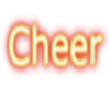 Cheer Sticker